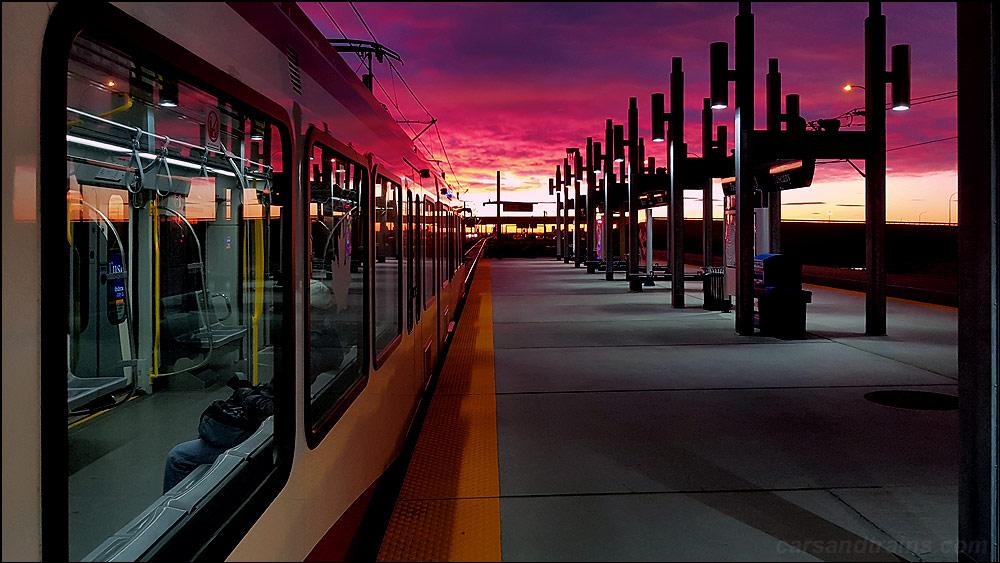 Calgary Ctrain Tuscany