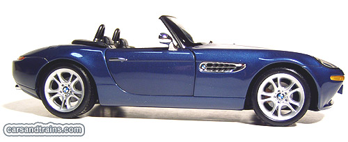 Diecast King Kyosho Bmw Z8 Blue