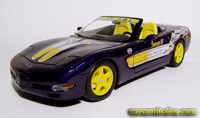 Diecast king maisto 1998 chevrolet corvette indy 500 pace car