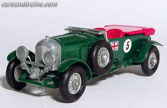 1929 bentley by matchbox 1962