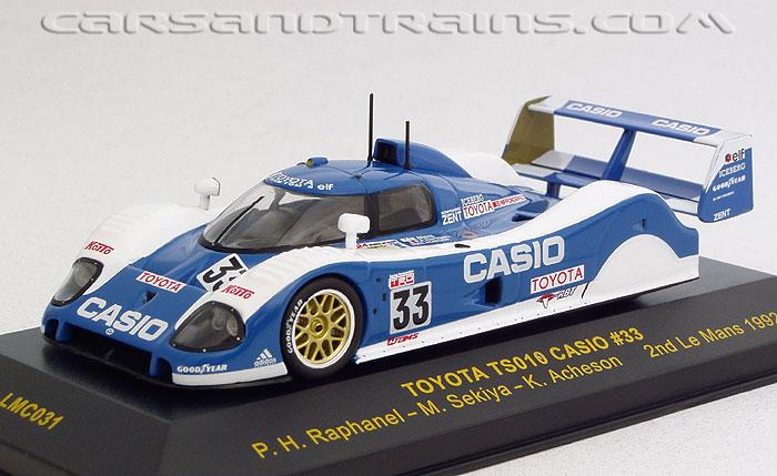 Die cast 1//43 Modellino Auto Toyota TS10 24H Le Mans 1992