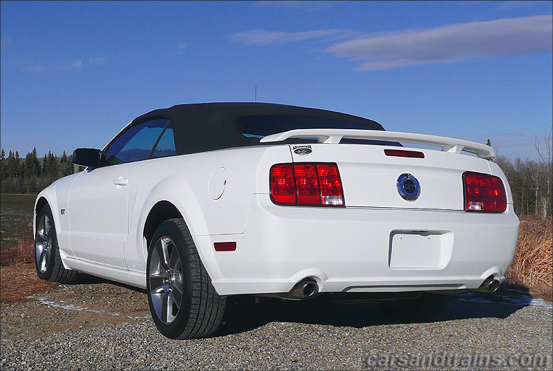 Ford New Cars >> 2007 Ford Mustang GT 4.6 Convertible S197 performance white