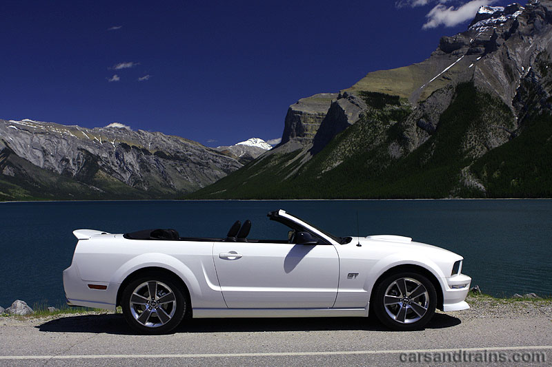 2007 Ford Mustang Gt 4 6 Convertible S197 Performance White