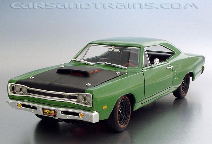 Diecast King Ertl 1969 Dodge Superbee Mopar Nationals green