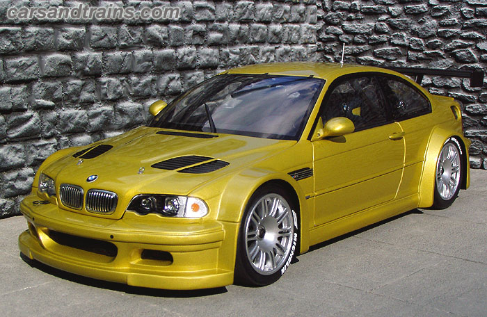 Diecast King Pma Minichamps Bmw M3 Gtr 2001 Phoenix Yellow