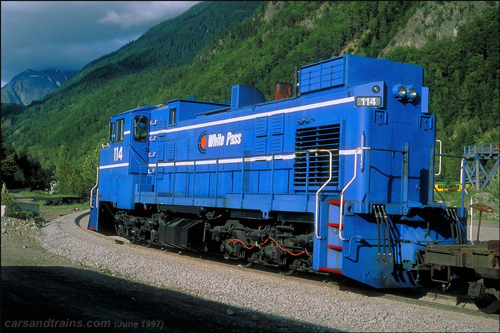 Iron Road White Pass & Yukon Route MLW DL353EW 114